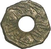 1 pitis - Octagonal (S.Mahmud Badar-ud-Din II) – avers