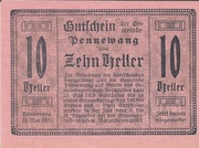 10 Heller (Pennewang) -  avers