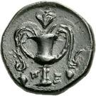 Chalkon (Peparethos) – revers