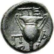 Dichalkon (Peparethos) – revers