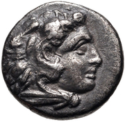 Diobol (Pergamon) – avers