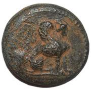 Bronze Æ17 (Perge) – avers