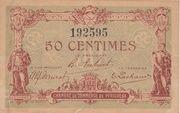 50 centimes - Chambre de Commerce de Périgueux [24] – avers