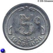 5 centimes - Chambre de Commerce - Périgueux [24] – revers