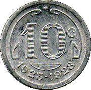 10 Centimes - Chambre de Commerce - Périgueux  [24] – revers