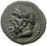 Bronze Æ25 (Perinthos) – avers