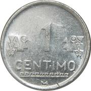 1 centimo -  revers