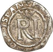 ½ real Philippe II (type RI, avec R) – avers