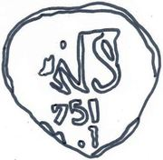 ½ real Ferdinand VI (type monogramme) – revers