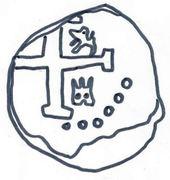 ½ real Ferdinand VI (type monogramme) – avers