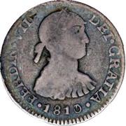 ½ real Ferdinand VII (1er type) – avers