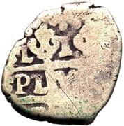 1 real Ferdinand VI (type croix) – revers