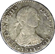 1 real Ferdinand VII (1er type) – avers