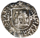 ¼ real Philippe II (type château) – avers