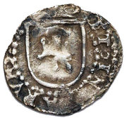 ¼ real Philippe II (type château) – revers