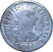 1 real Charles III (type effigie) – avers
