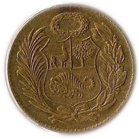 1 Sol De Oro P 233 Rou Numista