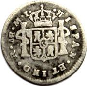 ½ real Charles III (type effigie) – revers