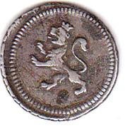 ¼ real Ferdinand VII – avers