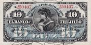 10 Centavos (Banco de Trujillo) – avers
