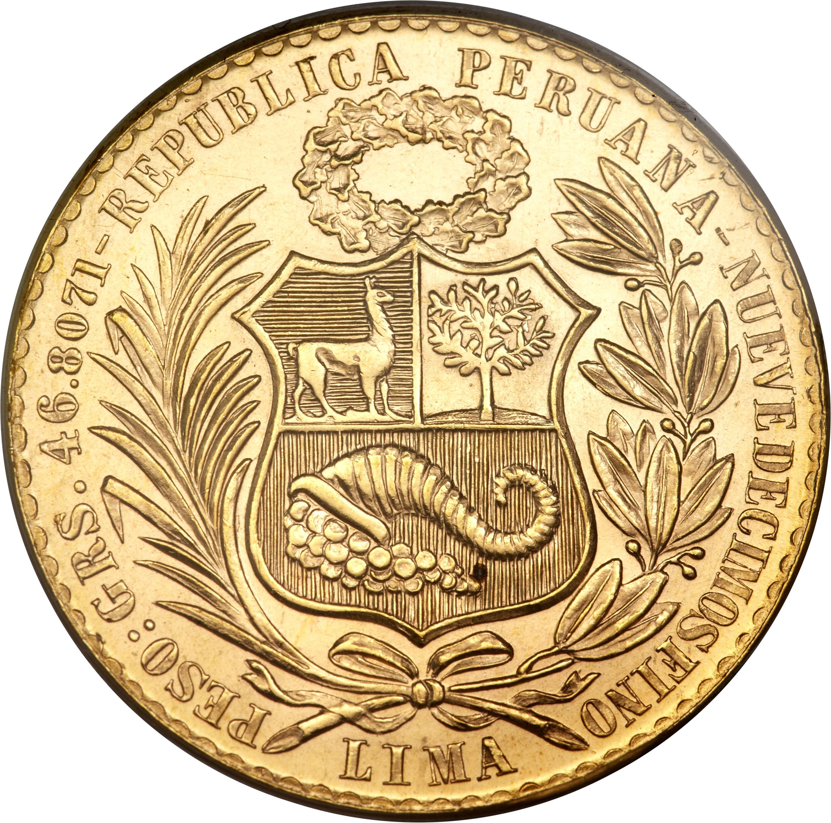 100 Soles Oro P 233 Rou Numista