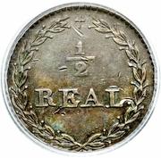 ½ real République Sud Péruvienne – revers