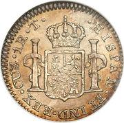 1 real Ferdinand VII (2e type) – revers