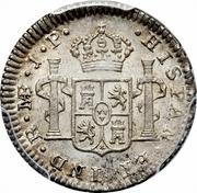 ½ real Ferdinand VII (2e type) – revers
