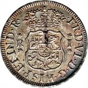 1 real Ferdinand VI (type écusson) – avers