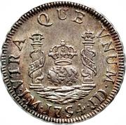 1 real Ferdinand VI (type écusson) – revers
