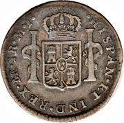 1 real Charles III (type effigie) – revers