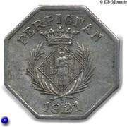 10 centimes - Chambre syndicale des commerçants - Perpignan [66] – avers