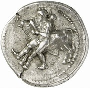 Drachm (Oloosson mint) -  avers
