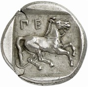 Drachm (Oloosson mint) -  revers
