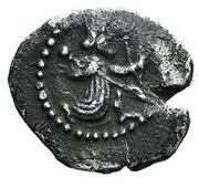 Obol - temp. Artaxerxes II - Ionia satrapy - 404-358 BC (PROVINCIAL COIN WITH ROYAL TYPE - Greco-Asiatic Standard - series V) – revers