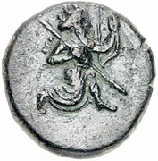 Hemidrachm - temp. Artaxerxes III / Darius III - Ionia satrapy - 350-334 BC (PROVINCIAL COIN WITH ROYAL TYPE - Greco-Asiatic Standard - series IV) – avers