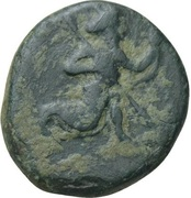 Chalkous - temp. Artaxerxes III / Darius III - Ionia satrapy - 350-334 BC (PROVINCIAL COIN WITH ROYAL TYPE - Greco-Asiatic Standard - series IV) – avers