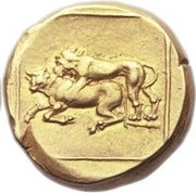 Double Daric - Mazaeus - Babylon satrapy - 385-328 BC (Mazaeus reform - Alexandrine Empire) – revers