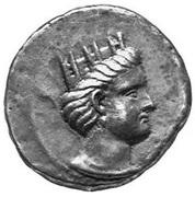 Tetradrachm - Andragoras - 245-238 BC (Satrap of Parthia) – avers