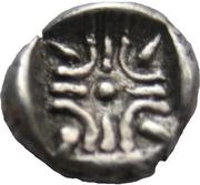 "AR Obol 395-372 B.C. - Satraps of Caria. Hekatomnos ""Ἑκατόμνος"" – revers"