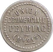 5 Centimes - Union Commerciale  - Peyriac Minervois [11] – avers