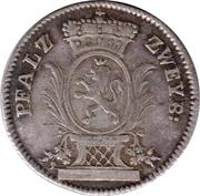 5 kreuzer Christian IV – avers