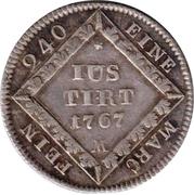 5 kreuzer Christian IV – revers