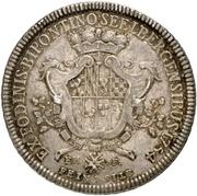 1 Thaler - Christian IV. (Ausbeutetaler) – revers