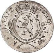 5 Kreuzer - Christian IV. – avers
