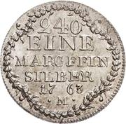 5 Kreuzer - Christian IV. – revers
