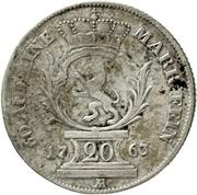 20 Kreuzer - Christian IV. – revers