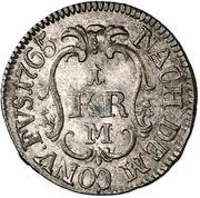 1 Kreuzer - Christian IV. – revers