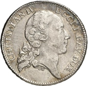 1 Thaler - Christian IV. (Konventionstaler) – avers