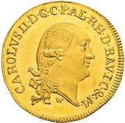 1 Ducat - Karl II. August – avers